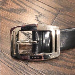 100% Authentic Men's PRADA belt. Size 105.